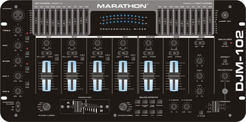 Marathon Djm-102 4-Channel 19-inch Mixer, Digital