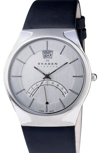 Skagen Men's 668XLSLZM Sports Form and Function on Leather Watch