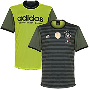 Deutschland Away Trikot 2016 2017 inkl France 2016 Druck - M