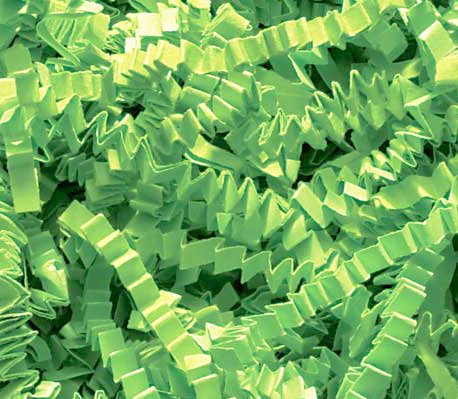 1/2 LB Crinkle Cut Paper Shred - Lime