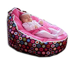 BayB Brand Infant and Toddler Bean Bag - Pink/Multi by BayB Brand