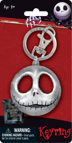 Disney Jack Head Pewter Key Ring