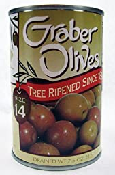 Graber Olives Size 14 7.5 oz. Can