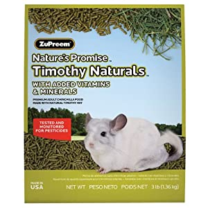 Zupreem Chinchilla Pellets 3lb