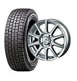 スタッドレスタイヤ155/65R13・ホイール1本セット 13インチ DUNLOP(ダンロップ) ウィンターマックス WM-01 155/65R13 73Q + INTER MILANO ゼファー BT10 (BEST) 1340 4H100+45