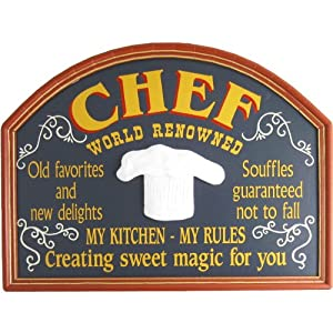 Personalized Wood Sign - CHEF