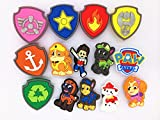 20 (Puppy Power) Paw Patrol Bone Shield Background Charms & Wristband Bracelet