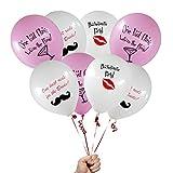 "12 Count - Bachelorette Party Favors 12"" Balloons Decorations Supplies"
