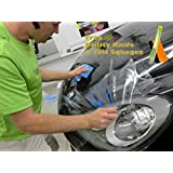 FREE TOOL KIT JDMBESTBOY Clear Paint Protection Film Vinyl Wrap Brace (Invisable Scratches Shield) - 12