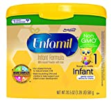 Enfamil Infant Non-GMO Baby Formula, 20.5 Oz. Tub (Pack of 4) - Best Reviews Guide