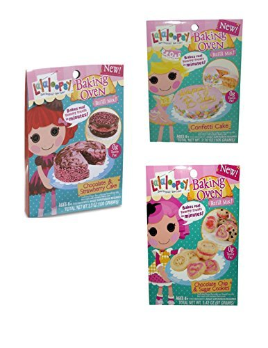 how to make lalaloopsy cake mix