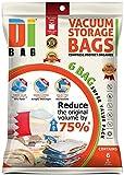 Dibag 6 Vacuum Storage Bags Platzsparer Vakuum Beutel 100 x