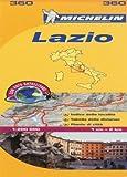Michelin Map Lazio Italy: Lazio 360