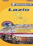 Lazio (Michelin  Local Maps) (Micheli...