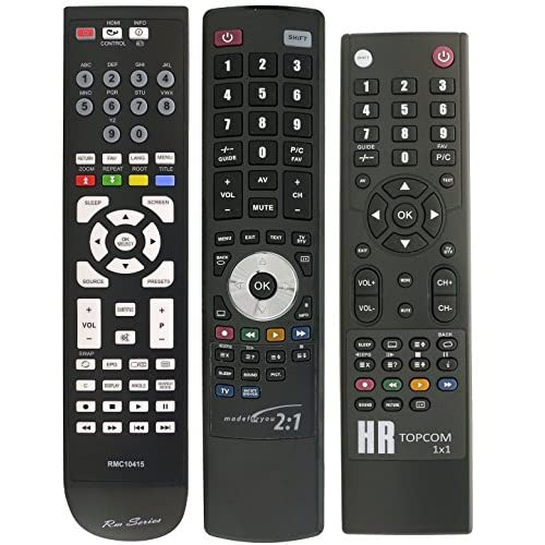 Replacement TV Remote Control for GOODMANS GTVL32W25HDF