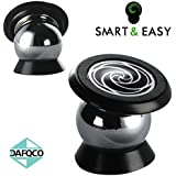 SMART & EASY® Magnetic Cell Phone Holder| Cell Phone Car Mount| Car Mount Phone Holder| Installs on Any Flat Surface