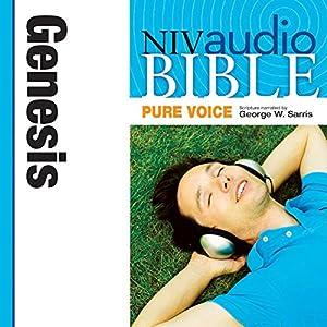 NIV Audio Bible, Pure Voice: Genesis Audiobook