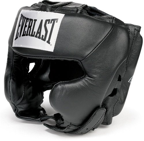 Everlast Professional Head guard Traditional Boxing Head Gear - MED