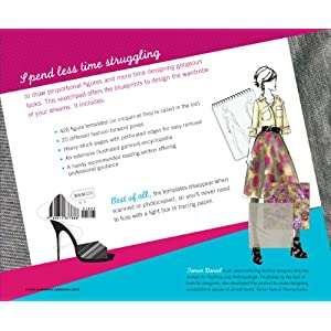 The Fashion Sketchpad: 420 Figure Templates for Designing Looks and Building Your Portfolio: Tamar Daniel: 9780811877886 Coupons Promo Codes Discounts 2013 images