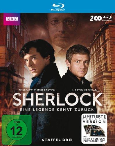 Sherlock - Staffel 3 inklusive Postkartenset (exklusiv bei Amazon.de) [Blu-ray] [Limited Edition]