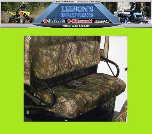 Kawasaki Mule 3000 3010 4000 4010 4x4 Diesel Realtree Camo Seat Covers
