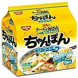 日清 日清のラーメン屋さんちゃんぽんシーフード風味 5食パック×6個