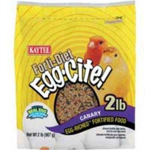 Cheap Kaytee Forti Diet Egg-Cite Food for Canaries, 2-Pound Bag (B001OVGO7C)