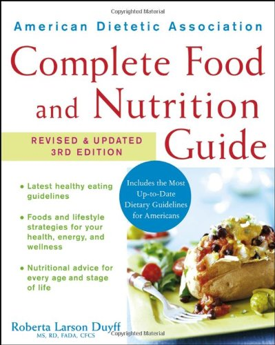 American Dietetic Association Complete Food And Nutrition Guide back-14273