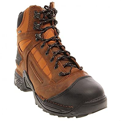 Danner Men's Instigator GTX Steel Toe Boots,Brown,7 D