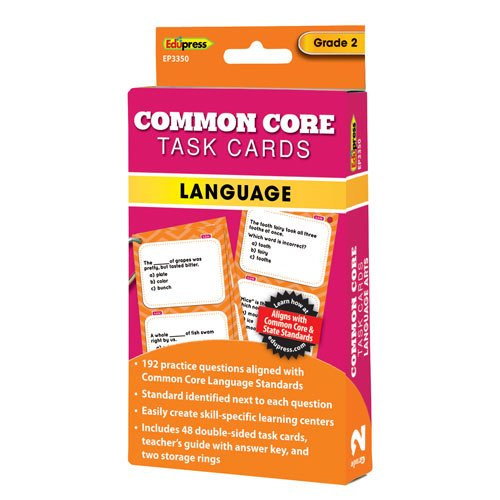 Common Core Language Task Cards Grade 2 - 1
