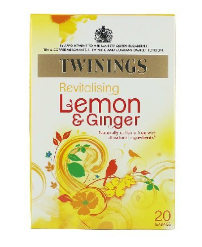 Twinings Herbal Tea, Lemon & Chinese Ginger, 20 Teabag Box (Pack Of 6), Garden, Lawn, Maintenance