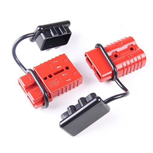 2-4 Gauge Driver Battery Quick Connect Plug Kit Recovery Winch Trailer 350 amps (Battery Connectors compare prices)