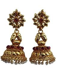 Hasthakala Gold Plated Classic Style Jhimuki
