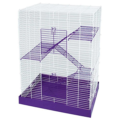 WARE Chew Proof Four Story Hamster Cage 51BORa1C1eL