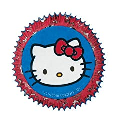 WILTON HELLO KITTY BAKING CUPS 415-7575