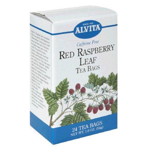 Alvita Teas Red Raspberry Leaf - 24 - Bag