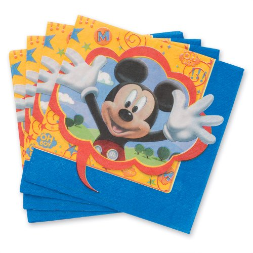 Disney Mickey Mouse Party Fun Lunch Napkins - 16 per Pack