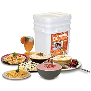 Relief Foods 1 Month Emergency Food Supply Entrée and Breakfast Meals Bucket... by Relief Foods
