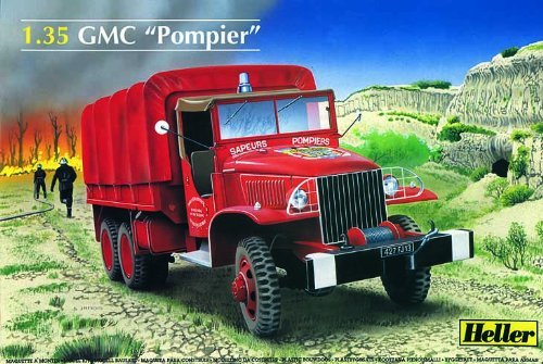 GMC Canvas Covered Fire & Rescue Truck 1/35 Heller