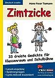 Image de Zimtzicke: 33 dreiste Gedichte für Klassenraum und Schulbühne