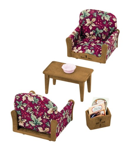 Epoch Sylvanian Families Sylvanian Family Living Room Arm Chair Sofa set KA-509 - 1