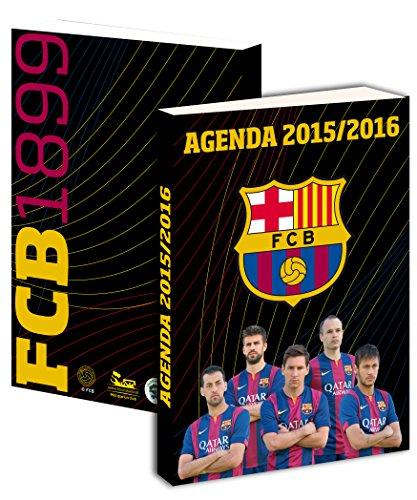 Agenda scolaire Barça 2015 / 2016 – Collection officielle FC BARCELONE – Rentrée scolaire Barcelona