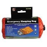 Bolsa de dormir SE EB122OR  de emergencia con estuche protector