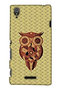Print Haat Back Case Cover for Sony Xperia T3 (Multicolor)
