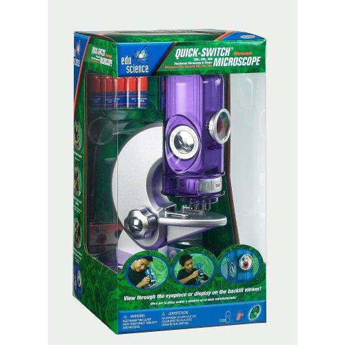 Edu Science Quick-Switch 900X Microscope - Purple