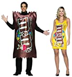 M&M Candy Plain & Peanut Couples Costume Set Adult Standard