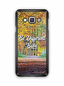 YuBingo Be Different Babe Designer Mobile Case Back Cover for Samsung Galaxy A3