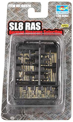 Trumpeter SL8 RAS German Rifles, Scale 1/35, 4-Pack