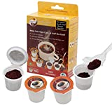 iFill Cup - Disposable Coffee Filter for Keurig K-Cup Coffee Brewer (100% Recyclable) - Fill up to 50% More Coffee, 12 Cups (Pack of 2)