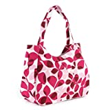 Fucshia Tone Flower pattern Bag